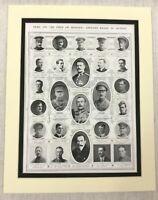 1915 WW1 Original Aufdruck Britisch Soldat Offiziere Opfer Von Krieg Hero Tot