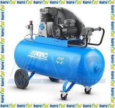 Compressore a cinghia 200 lt ABAC A39 200 CM3 professionale aria compressa 3 HP