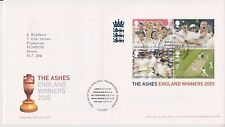 TALLENTS PMK GB ROYAL MAIL FDC 2005 ASHES WINNERS STAMP SHEET