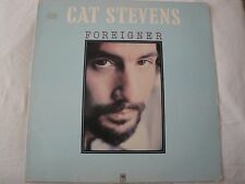 CAT STEVENS FOREIGNER VINYL LP 1973 A & M RECORDS THE HURT, HOW MANY TIMES, EX