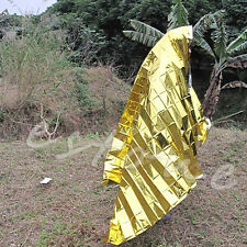 First Aid Rescue Blanket Outdoor Waterproof Emergency Survival Foil Thermal 1Pc