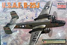 1/144 Scale Minicraft Models 'U.S.A.F. B-25J' Kit #14653