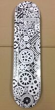 New Soapbox USA Skateboard Deck - 7ply Canadian Maple-Conseil race 7.5 pouces White