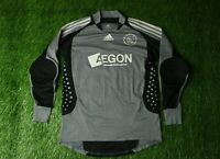 AJAX 2008/2009 PLAYER ISSUE FOOTBALL SHIRT JERSEY GOALKEEPER GK ADIDAS ORIGINAL