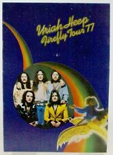More details for uriah heep programme vintage firefly tour 1977
