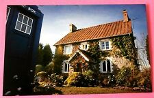 Tardis Beside Amelia Pond's House New Doctor Who Postcard