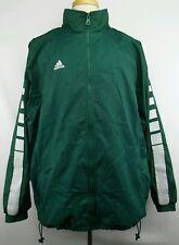 Vintage Adidas 100% Nylon Full Zip Windbreaker Jacket Size Adult XL