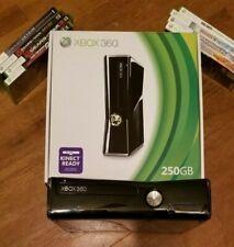 Xbox 360 Slim 250GB +9 games: Gears of War - Call of Duty - Skyrim - Bioshock