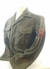 WW2 WWII USMC Marines Wool Coat,Corps,Jacket,Navy,Uniform,Dress,Original,Tunic