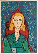 Gustavo Boldrini serigrafia Figura 70x50 firmata numerata 21/120