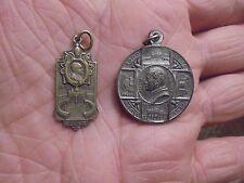 2 Anciennes Médailles : le Pape PIE XI