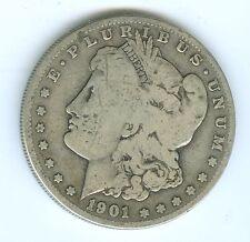 1901-S MORGAN SILVER DOLLAR--CIRCULATED