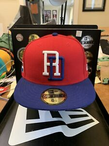 Dominican Republic New Era 59FIFTY 2017 World Baseball Classic Fitted Hat 6-7/8