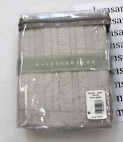 Barbara Barry Eternity Oyster Gray Quilted Cotton Euro Sham