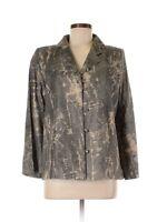 NWT Mark Heister Python Print 100% Cotton Jacket Size S MSRP $980