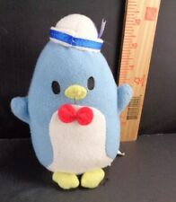Sanrio hello Kitty Tuxedo Sam Blue Penguin Sailor Hat Plush Stuffed Toy Doll 6""