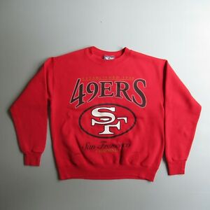90s San Francisco 49ers NFL Sweatshirt vtg Shirt Vintage Crewneck Red