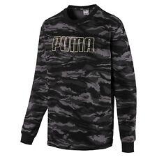 PUMA Men's Camo Fleece Crewneck Sweatshirt