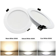 7W/9W/12W/15W Dimmable LED Downlight Recessed Ceiling Light Lamp Indoor White