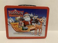 Rudolph the Red Nosed Reindeer, Tin Lunch Box Island of Misfit Toys,Collectible