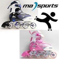 New Kingdom Coolslide Childrens Kids Junior Inline Roller Skates rrp £45 Sale