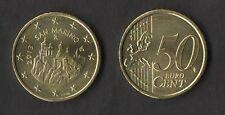 SAN MARINO MONETA FDC DA 50 Cent 2013 fior di conio da ROTOLO Coin UNC