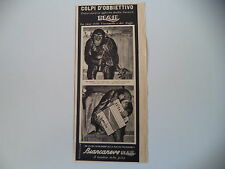 advertising Pubblicità 1940 CARAMELLE ELAH E SCIMMIE TIM E TOM