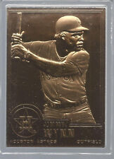 Jimmy Wynn 2001 Danbury Mint Sealed 22 Kt Gold Card # 106