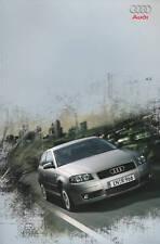 2068AU Audi A3 Prospekt 2003 5/03 deutsche Ausgabe