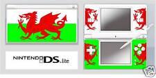 Nintendo DS or DS Lite WELSH FLAG Vinyl Skin Sticker
