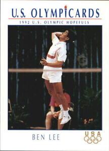 1992 Impel U.S. Olympic Hopefuls #6 Ben Lee/Badminton