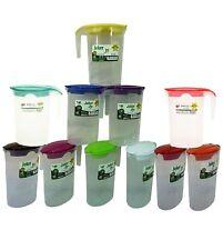 Plastic Water Jug Pitcher Milk Storage Contanier with Lid