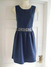 bnwt size 16 womens dress Navy Blue Sexy Evening Summer Party Ladies Sleeveless
