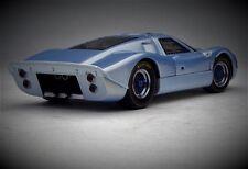 GT40 Ford GT 1966 Vintage Sport Race Car 1 18 Concept 24 Rare Carousel Blue 12