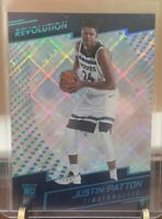 2017-18 Revolutions Justin Patton Cosmic Prizm Rookie Card #d 44/100