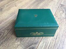 Orologio Rolex VERDE SCATOLA ORIGINALE VINTAGE MOLTO RARO tipo di scatola di presentazione