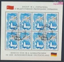 Soviétique-Union 5955 Feuille miniature oblitéré 1989 Europe (8721527