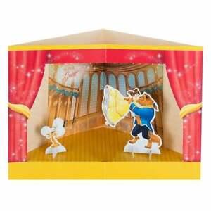 Hallmark Beauty and the Beast 3D Princess Stage Pop-Up Birthday Card 25482543