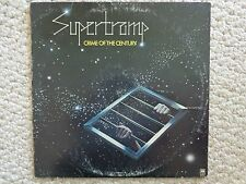 Supertramp's Crime of the Century Lp Sp 3647, 1974 A&M Records, Inc.