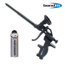 PROFESSIONAL PU EXPANDING FOAM GUN APPLICATOR CHROME BOND IT CLEANER