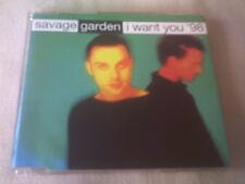 SAVAGE GARDEN - I WANT YOU '98 - UK CD SINGLE