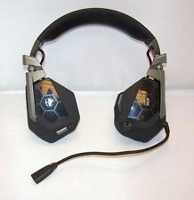 Mad Catz Cyborg F.R.E.Q. FREQ 5 Stereo Gaming Headset for PC Mac Matte Black