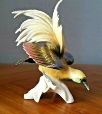 Oiseau de paradis Karl Ens Germany porcelaine  - 22077