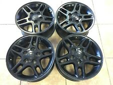 "16"" Jeep Wrangler Rubicon Grand Cherokee OEM Factory Rims Wheels Set of 4 9041"