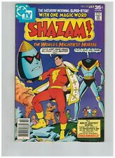 SHAZAM! 33 Captain Marvel vs Mr. Atom!  1st appearance SHAZAMOBILE!  F/VF 1978