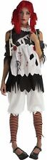 Gothic Ragdoll Girl Adult Costume Rag Doll Fancy Dress Dark New Extra Small XS