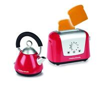 Casdon Morphy Richards Pretend Play Toaster & Kettle Set Red Toy Playset