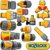HOZELOCK QUICK CONNECT EASY TO USE OUTDOOR HOSE CONNECTOR VARIOUS TYPES & SIZES