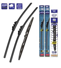 "Vauxhall Corsa D 2006-on windscreen wiper blades 26''16""12"" front and rear"