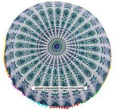 Brilliant Design Floor Cushion Cover Mandala Style Home Decor Ombre Bohemiam